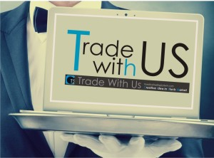 trade with us poster small