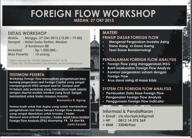 foregin flow poster - MEDAN